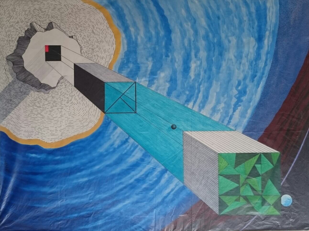 Reaching out with art from death row in San Quentin, California – By Nicola White