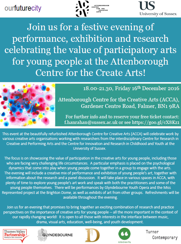 Beating the Odds: celebrating the value of participatory arts for young people
