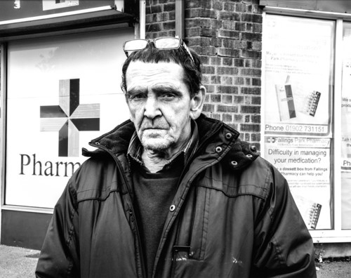 David Goldblatt: 'Ex-offenders at the Scene of the Crime'