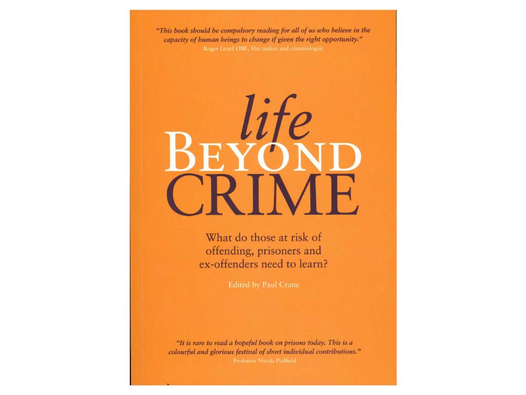 New book: Life Beyond Crime