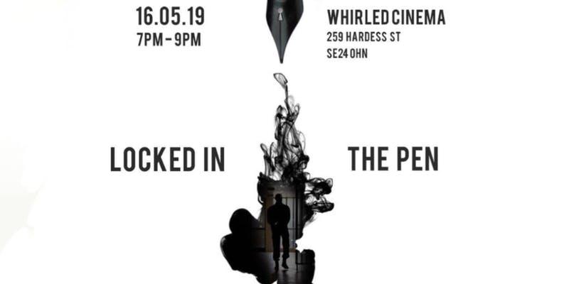 Locked in the Pen screening and spoken word night