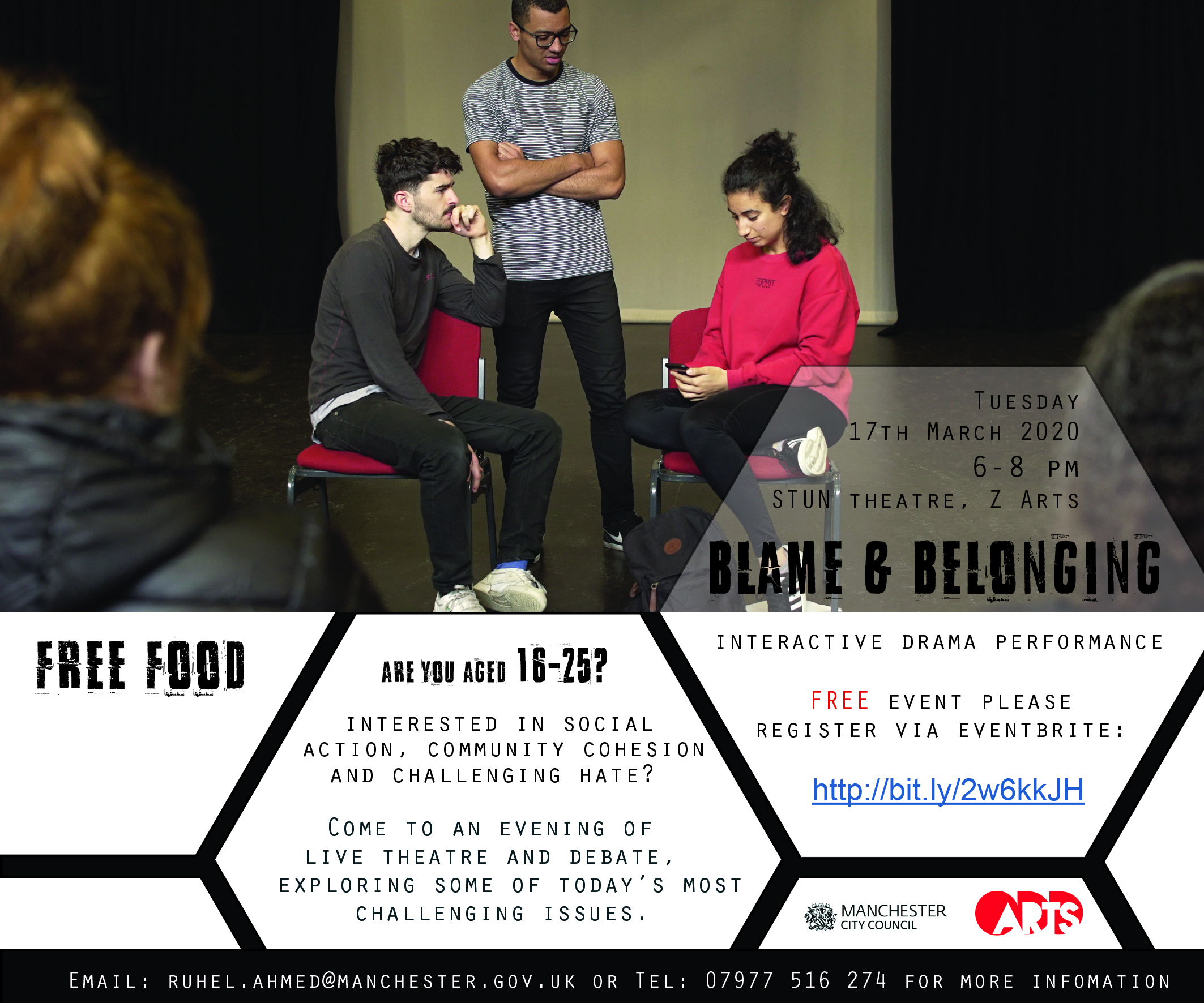 Blame and belonging – an interactive drama performance
