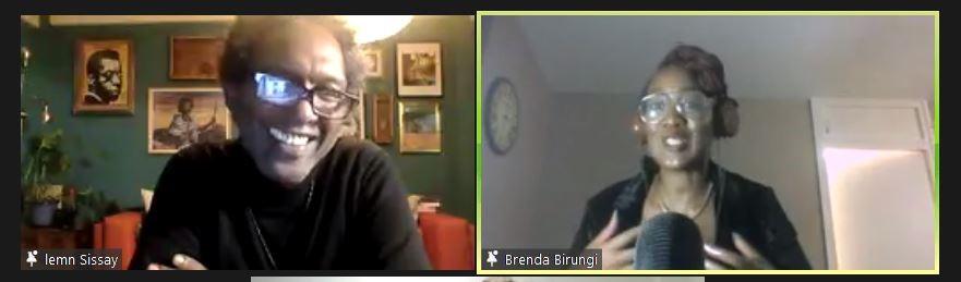 Lemn Sissay + Brenda Birungi