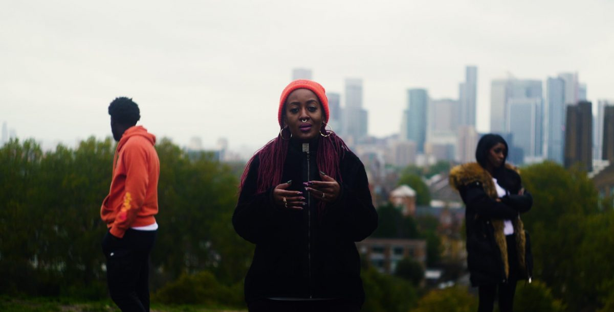 Poet Lady Unchained in her new short film The Forgotten People